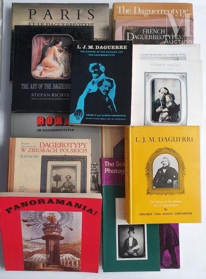 DAGUERREOTYPE : 14 ouvrages et catalogues