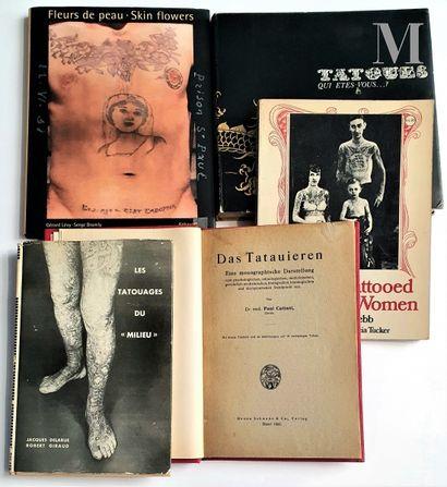 TATOUAGES : 5 ouvrages et catalogues