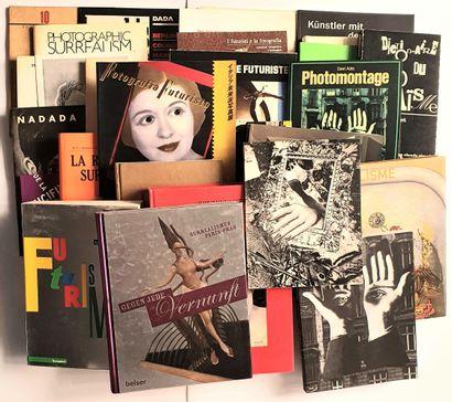 DADAISME, SURREALISME & FUTURISME: 36 ouvrages et catalogues