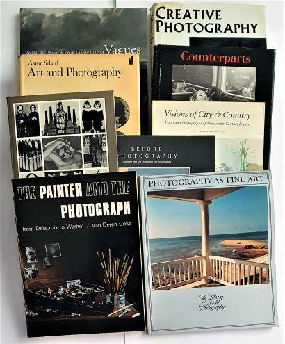 PHOTO & PEINTURE : 8 ouvrages et catalogues