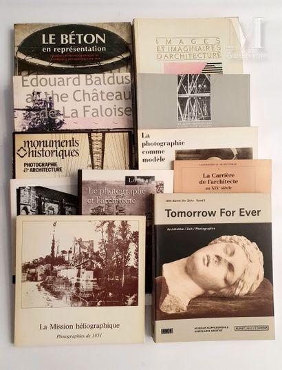 ARCHITECTURE : 11 ouvrages et catalogues