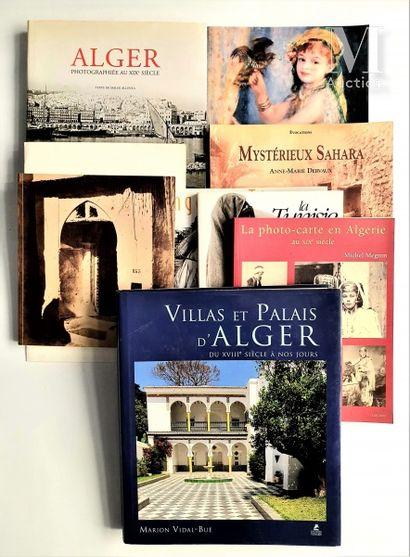 ALGERIE, MAROC & TUNISIE: 9 ouvrages et catalogues