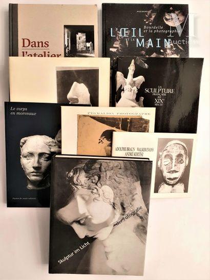 SCULPTURE & PHOTOGRAPHIE: 8 ouvrages et catalogues