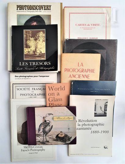 HISTOIRE DE LA PHOTOGRAPHIE : 12 ouvrages et catalogues