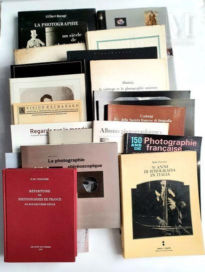 HISTOIRE DE LA PHOTOGRAPHIE: 21 ouvrages et catalogues