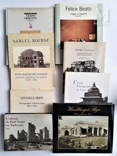 INDE, JAPON & DIVERS: 9 ouvrages et catalogues