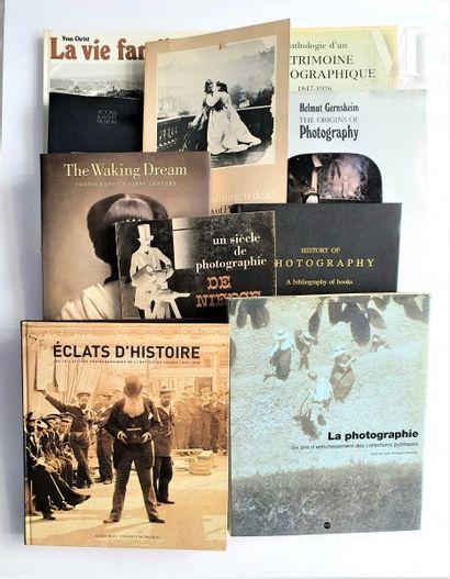 HISTOIRE DE LA PHOTOGRAPHIE : 10 ouvrages et catalogues