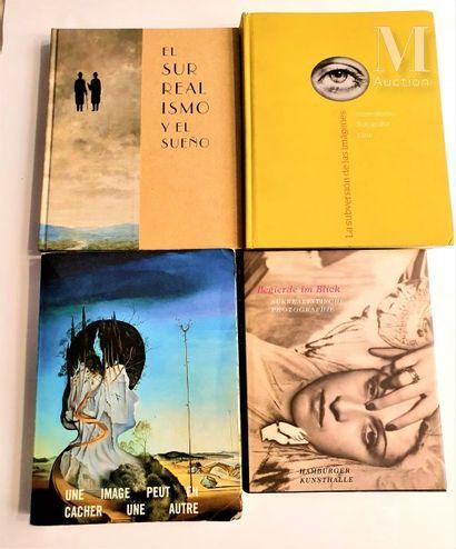 SURREALISME : 4 ouvrages et catalogues