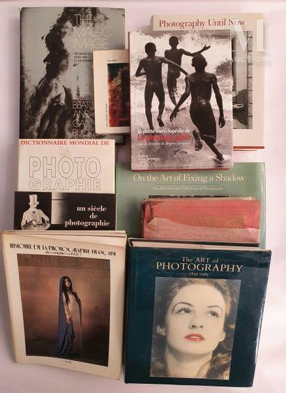 HISTOIRE de LA PHOTOGRAPHIE: 10 ouvrages et catalogues
