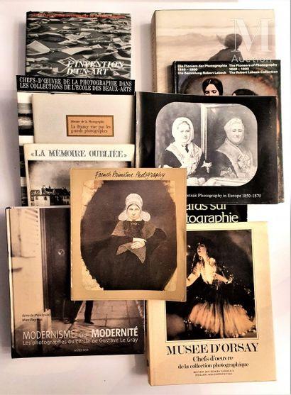 HISTOIRE DE LA PHOTOGRAPHIE : 11 ouvrages et catalogues