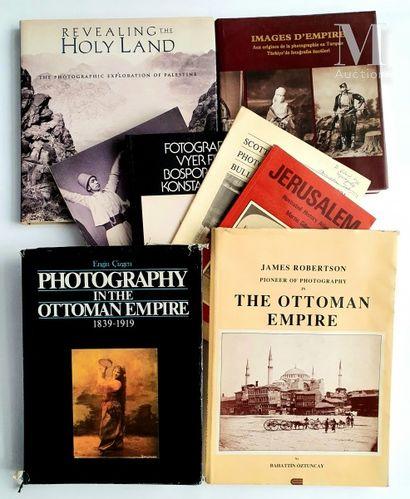 TURQUIE & TERRE SAINTE: 8 ouvrages et catalogues