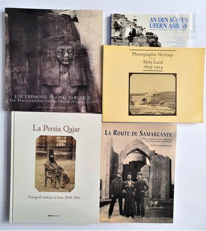 ASIE & EGYPTE: 5 ouvrages et catalogues