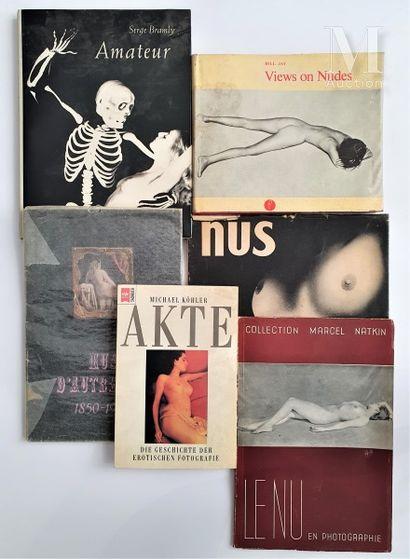 NUS FEMININS: 6 ouvrages et catalogues