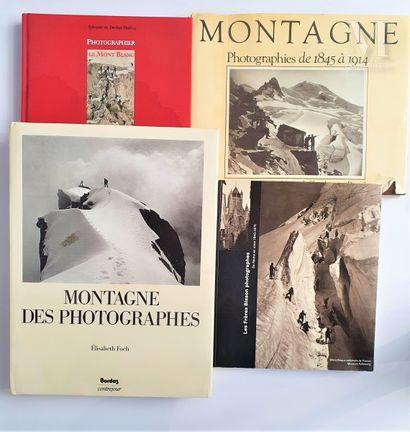 MONTAGNE : 4 ouvrages et catalogues
