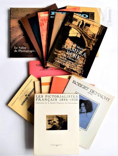 PICTORIALISME : 15 ouvrages et catalogues