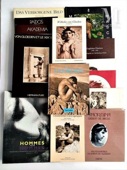 NUS MASCULINS: 15 ouvrages et catalogues