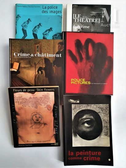 PHOTOGRAPHIE CRIMINELLE : 6 ouvrages et catalogues