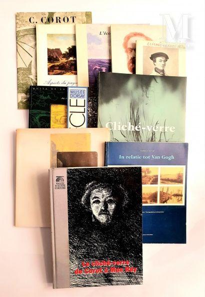 LE CLICHE VERRE / BARBIZON : 11 ouvrages et catalogues
