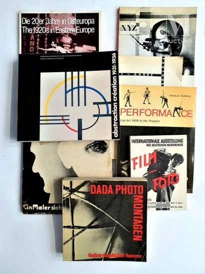 DADA & ABSTRACTION : 8 ouvrages et catalogues