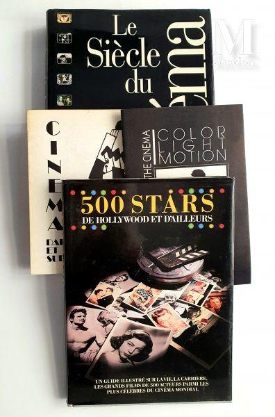 PHOTOGRAPHIE DE CINEMA: 4 ouvrages et catalogues