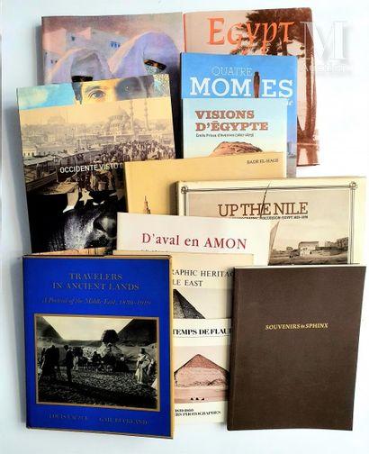 EGYPTE & TERRE SAINTE: 13 ouvrages et catalogues