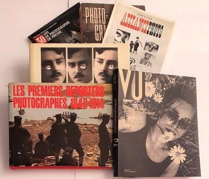 REPORTERS & PRESSE : 6 ouvrages et catalogues