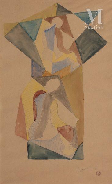 Léopold SURVAGE (Moscou 1879-Paris 1968)