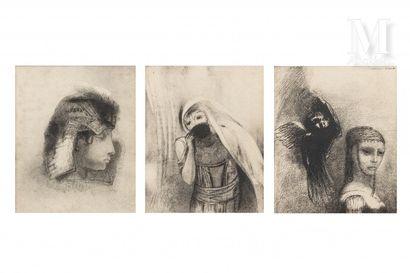 D'après Odilon REDON (1840-1916)