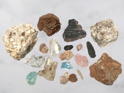 Minéraux et pierres