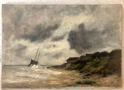 Attribué à Alexandre DUBOURG (1821 - 1891)
