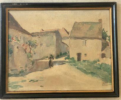 Ecole FRANCAISE du début du XX ème siècle .