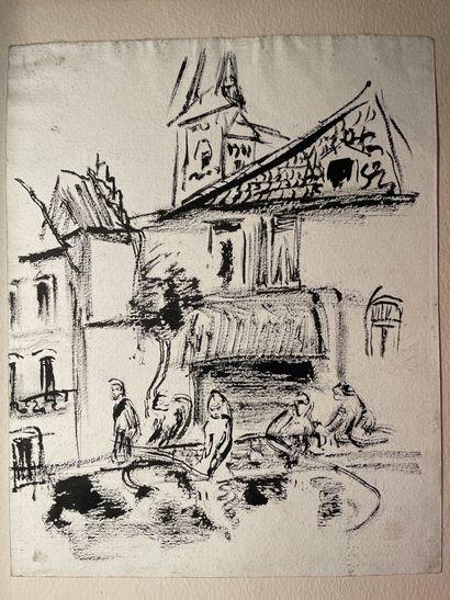 Lou ALBERT- LASARD (Metz 1885 - Paris 1969)