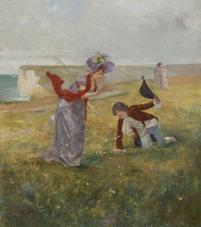 Albert Emile ARTIGUE  (Buenos Aires 1850 - Paris 1927)