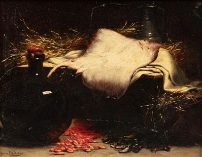 Hippolyte Pierre DELANOYE (Glasgow 1849- Paris 1899)