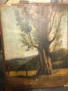 Ecole FRANCAISE de la Fin du XIXe siècle, dans le goût de Corot .