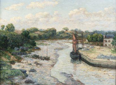 Ernest de CHAMAILLARD (Gourlizon 1862 - Eaubonne 1931)