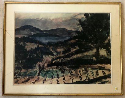 André DUNOYER DE SEGONZAC 1884 - 1974
