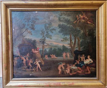 Ecole ITALIENNE du XVIIIème, suiveur de l'ALBANE