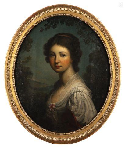 Ecole FRANCAISE vers 1830, suiveur de Jeanne Philiberte LEDOUX