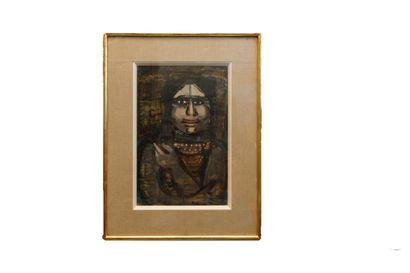 Magdalena RADULESCU (1902-1983)  Portrait...