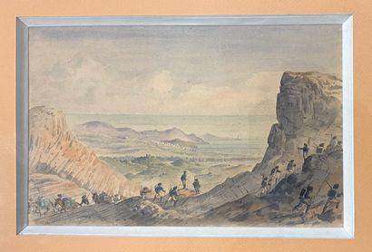 Antonio TRACHEL (1828-1903)  Chasseur alpin...
