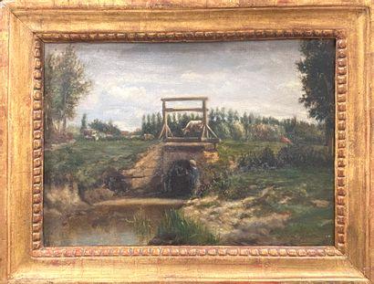 Stanislas LEPINE (1835-1892)  Silhouette...