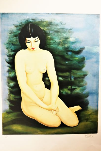 D'après Moïse KISLING (1891-1953) Jeune...