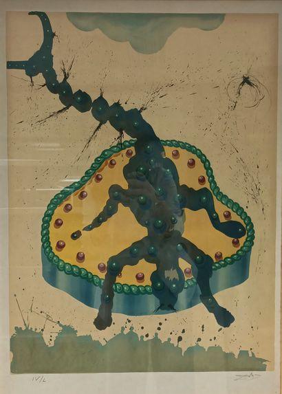 Salvador DALI (1904-1989)  Le scorpion  Issu...