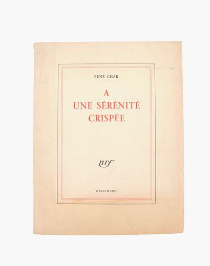 *CHAR (René).