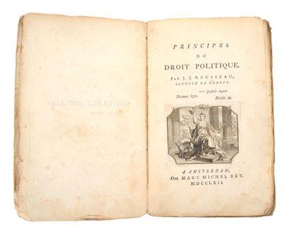 ROUSSEAU (Jean-Jacques).