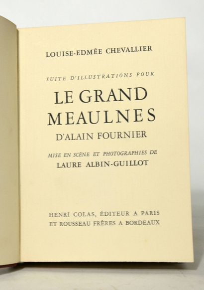 CHEVALLIER (Louise-Edmée).