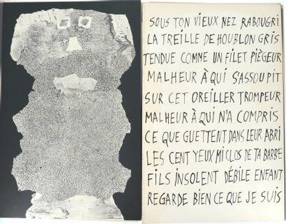 *DUBUFFET (Jean).