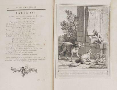 LA FONTAINE (Jean de) & OUDRY (Jean-Baptiste) Fables choisies, mises en vers par...