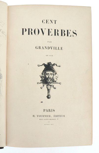GRANDVILLE (Jean Ignace Isidore Gérard dit)
